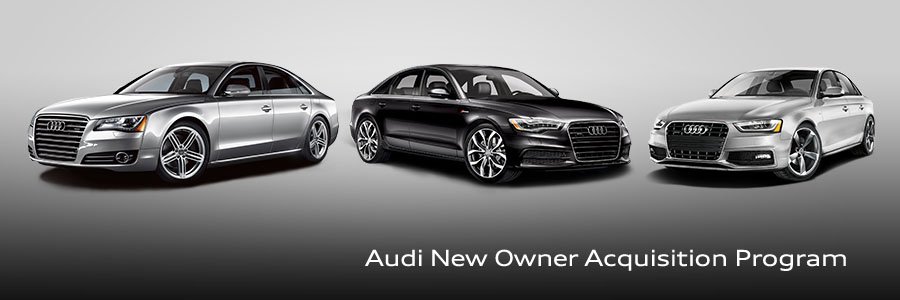 Audi Wilsonville New Owner Acquisition Program